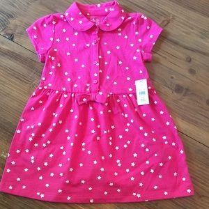 Baby Gap Hot Pink Dress 2T